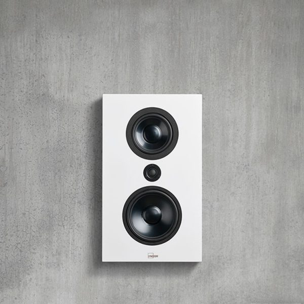 Lyngdorf FR1 Loudspeaker in White on Wall